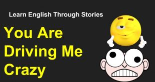 You Are Driving Me Crazy ! Learn English Through Stories