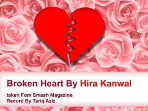 Heart-Broken-300x225 Broken Heart By Hira Kanwal~Heart Touching Lines