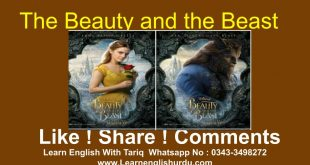 The Beauty and the Beast Elementary Level In Urdu ! Hindi