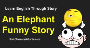 An Elephant Funny Story ~ Learn English Through Story