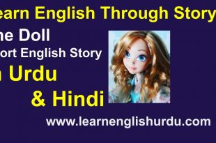 the doll English Short Story in urdu