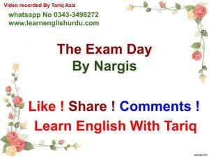 MY-EXAM-300x225 Poetry  About The Exam Day By Nargis ~ Fear Of Exams Phobia