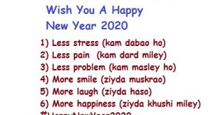 A New Year Wishes, Greetings, Sms, Quotes and Sayings