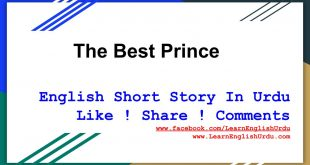 Short Story The best prince