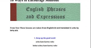 English phrases In urdu pdf free download